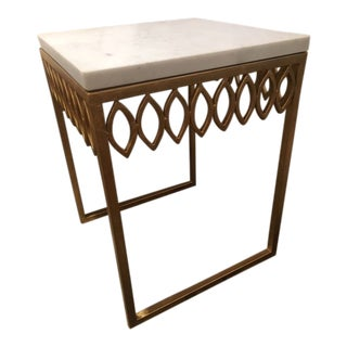Shabby Chic RB Leafy Side Table For Sale