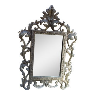 Antique Table Top Vanity Mirror
