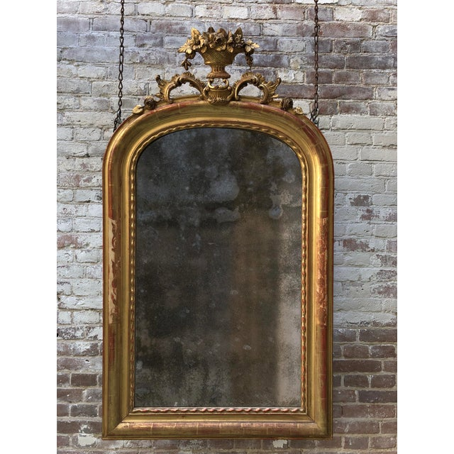 Mid 19th Century 19th Century Mirror, France For Sale - Image 5 of 7