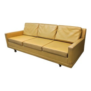 1960s Mid Century Modern Selig Monroe Sofa For Sale