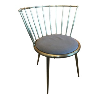 Mid Century Modern Cantori Aurora Barred Back Chair For Sale
