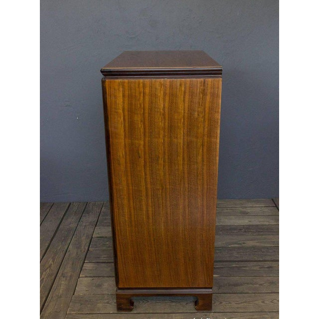 """American Midcentury """"chinese-modern"""" Chest of Drawers - Image 4 of 9"""