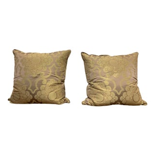 Custom Osborne + Little Decor Pillows - a Pair For Sale