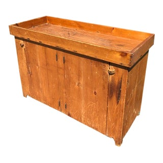 Shaker Wooden Dry Sink For Sale