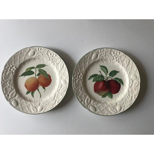 Late 20th Century Vintage Mikasa English Countryside Fruit Plates - A Pair For Sale - Image 10 of 10