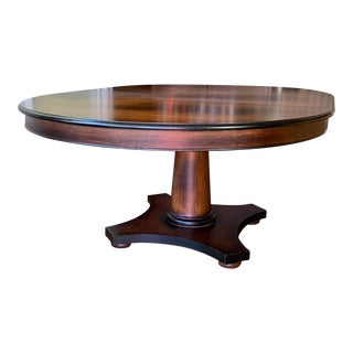 Artisan Solid Wood Dining Table For Sale
