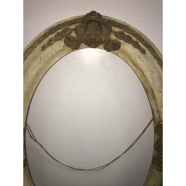 Victorian Wood & Gesso Oval Frame - Image 4 of 7