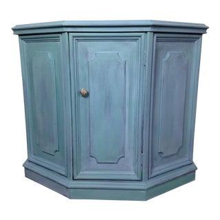 Coastal Blue Console Table