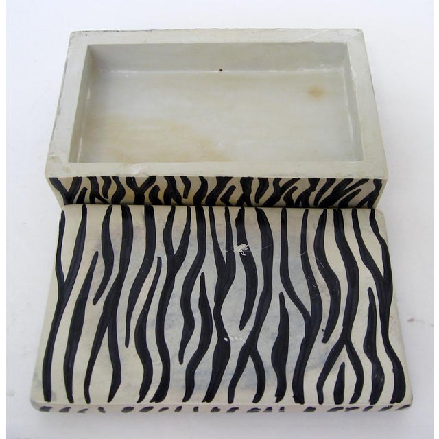 Soapstone African Soapstone Lidded Box For Sale - Image 7 of 8
