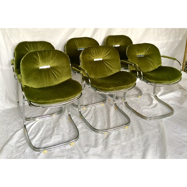 Sabrina Chairs by Gastone Rinaldi - S/6 - Image 2 of 9