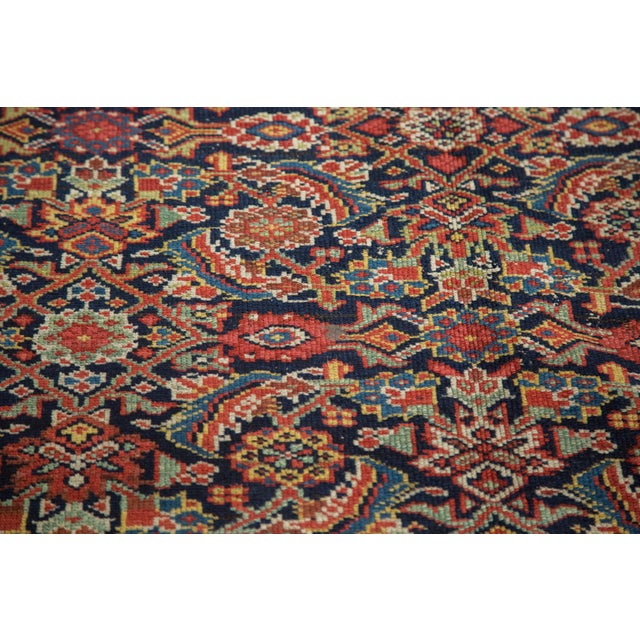 "Antique Malayer Rug Runner - 5'2"" X 9'9"" - Image 8 of 10"