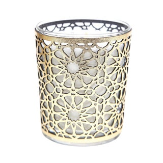 Cote Bougie Moroccan Figuier Candle with Leather Case For Sale
