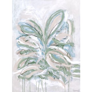 """""""Lily"""" Abstract Botanical Original Painting For Sale"""