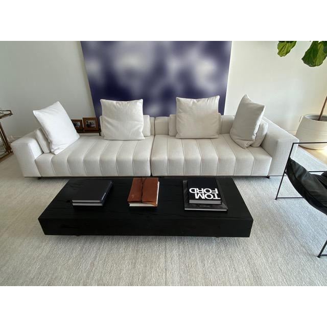 Minotti Freeman Tailor Sofa Daybed Element + Armrest Element For Sale In Los Angeles - Image 6 of 7