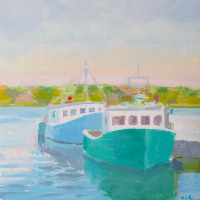 2010s Harbor by Anne Carrozza Remick For Sale - Image 5 of 5
