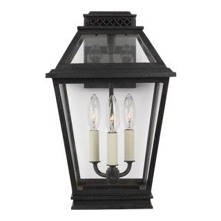 Chapman & Myers by Generation Lighting Falmouth Medium Outdoor Wall Lantern, Slate Gray