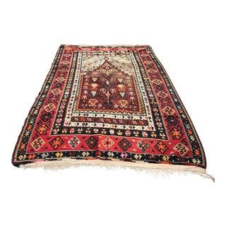 Turkish Anatolian Handmade Kilim Rug - 4′7″ × 8′2″