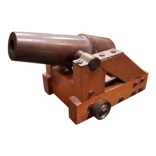 Mid 20th Century Replica of Early 19th Century English Signal Cannon For Sale