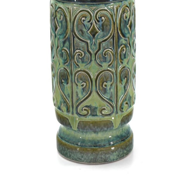 Art Pottery Table Lamp For Sale - Image 4 of 5