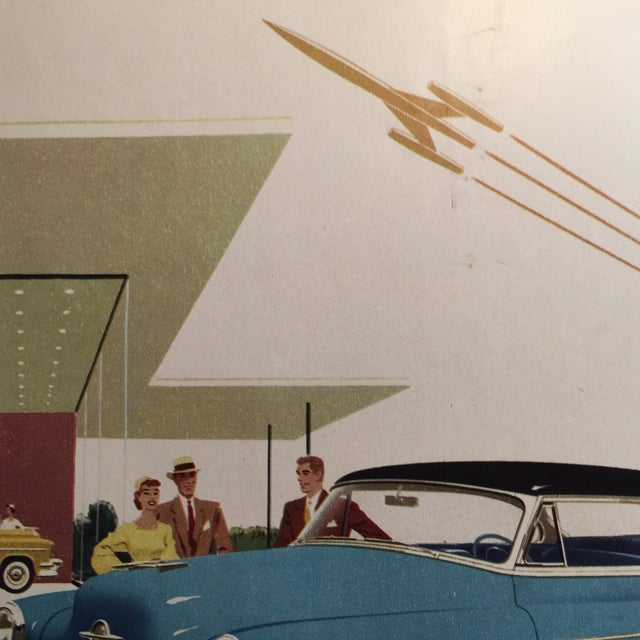 1953 Lucky Strike & Oldsmobile Ads - A Pair For Sale - Image 5 of 5