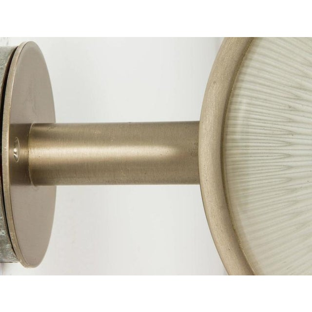 Gold Sergio Mazza Sigma Sconce For Sale - Image 8 of 10
