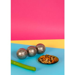 Still Life Conceptual Scene, Gallery Quality Giclée, Playful Food & Vivid Color For Sale