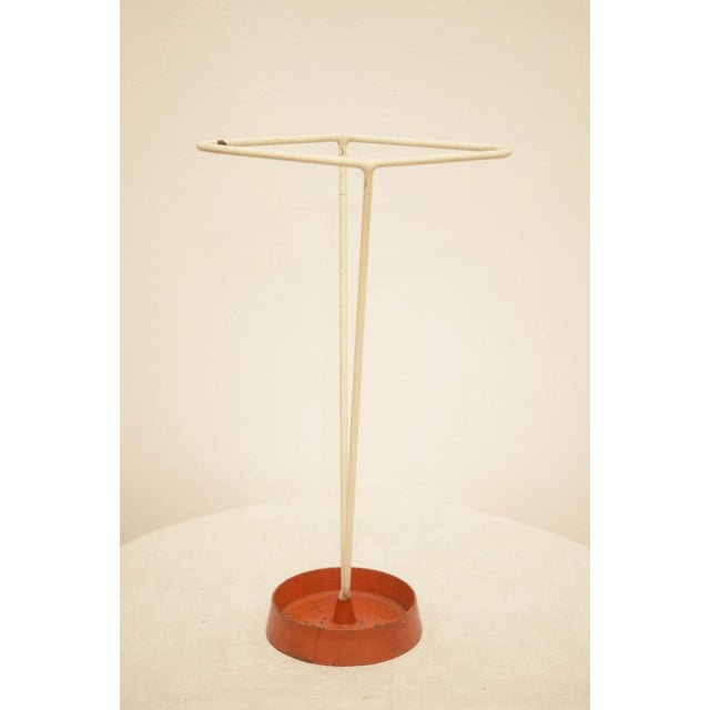 Umbrella stand made of steel wire, 1950s For Sale - Image 6 of 8