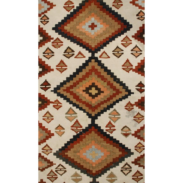 """Early 20th Century Kilim Runner - 48"""" x 159"""" For Sale - Image 4 of 5"""