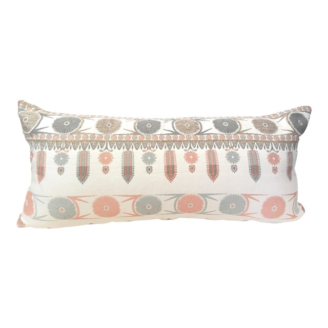 Suzani Motif Designer Pillow Cover - Image 1 of 4