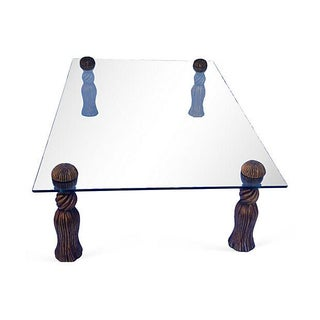 Phyllis Morris Gilt Tassel-Motif Table For Sale