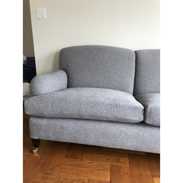English Traditional George Smith Standard Arm Signature Sofa For Sale - Image 3 of 6