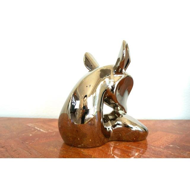 Vintage Jaru Silver Deer Statue - Image 5 of 8