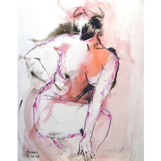 """Stephanie No. 2"" Figurative Painting"