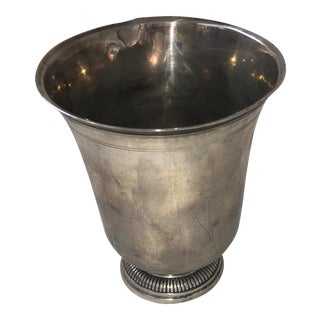 Vintage Silver Goblet Cup For Sale