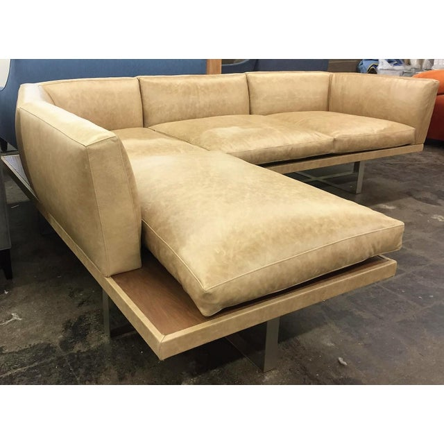 The Giocare Platform Sectional, is a great design for any interior concept. The frame is produce of a solid alder wood...