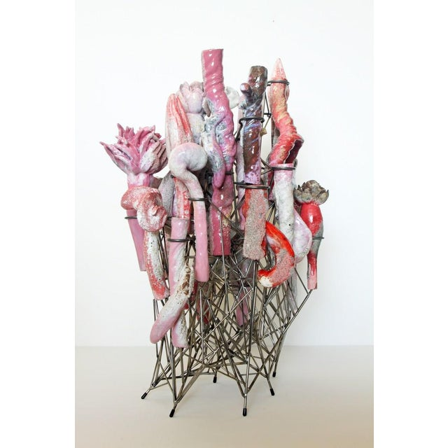 Contemporary David Hicks, Structure in Pink, 2016 For Sale - Image 3 of 3