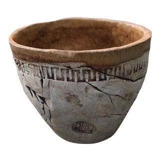 Vintage Art Studio Pottery Planter Pot