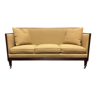 Baker Stately Homes Guinness Irish Regency Style Settee Sofa For Sale