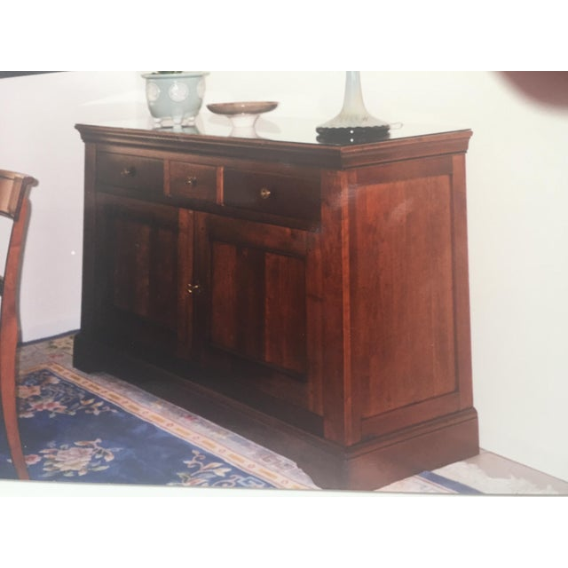 Cherry Wood Grange Louise Phillipe Buffet For Sale - Image 7 of 7
