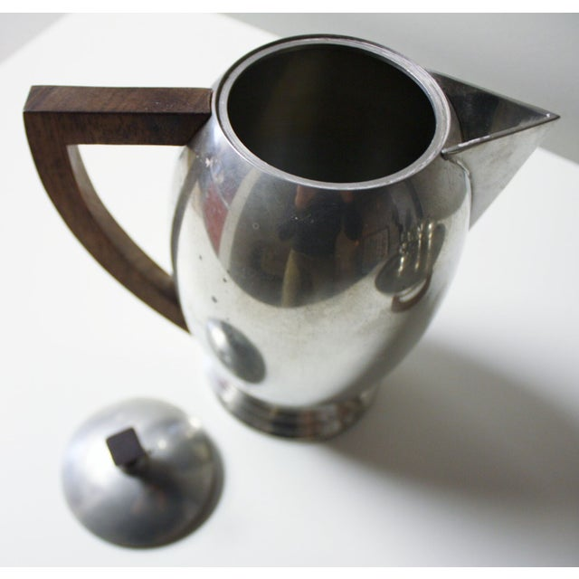 French Pewter Tea or Coffee Server - Image 2 of 7
