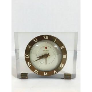 Mid-Century Telechron Lucite Clock Preview