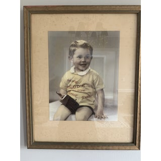"Vintage Mid-Century Portrait of ""Freddie"" Photograph Preview"