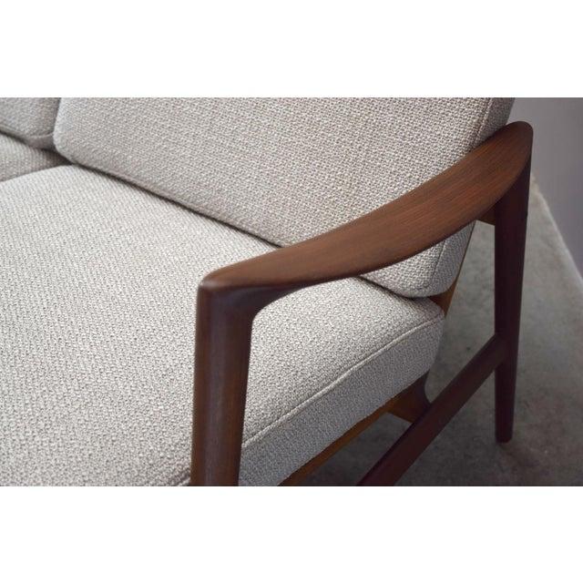 Danish Modern Danish Modern Adolf Relling for Dokka Restored Sofa For Sale - Image 3 of 11