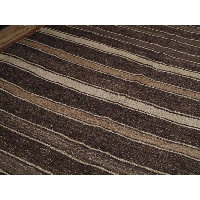 Banded Kilim For Sale - Image 4 of 5
