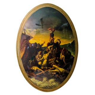 """The Raft of Medusa"" Convex Painting"