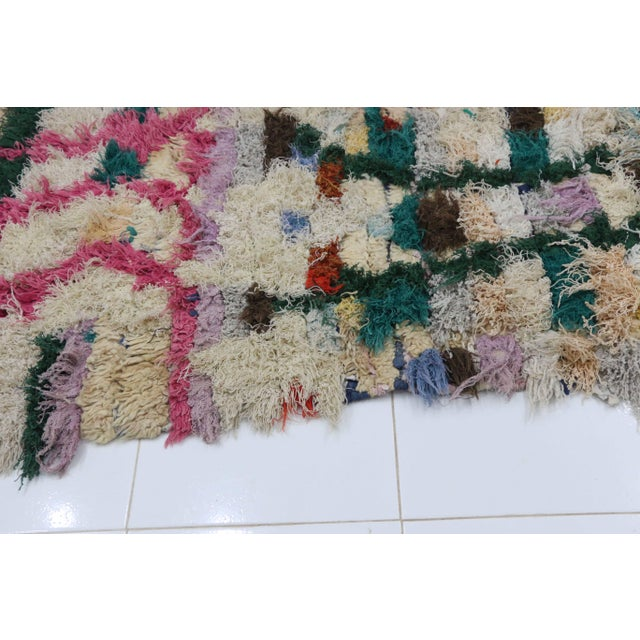 1980s Moroccan Azilal Rug - 3′5″ × 6′3″ For Sale - Image 4 of 5