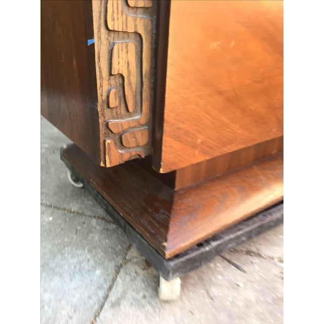Brutalist Armoire by United Furniture - Image 6 of 7