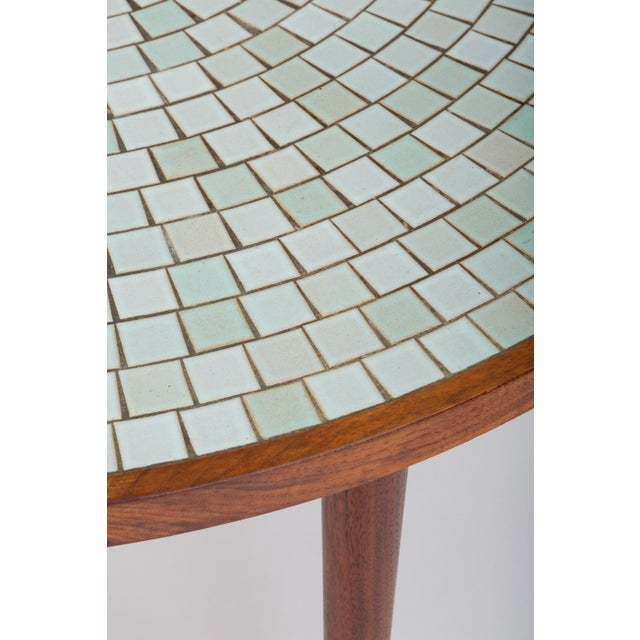 Tile-Top Walnut Dining Table by Gordon & Jane Martz for Marshall Studios For Sale - Image 9 of 13
