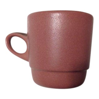 20th Century Contemporary Heath Ceramics Mauve Stacking Mug