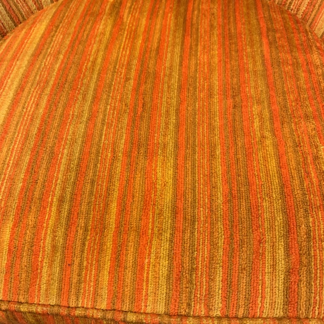 Vintage French Style Barrel Back Chairs- a Pair For Sale - Image 9 of 13